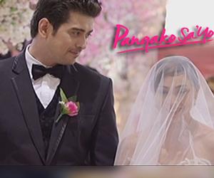 Eduardo and Amor's wedding day