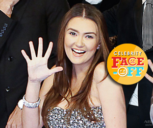 6 wackiest photos of Angelica Panganiban aka PSY's Madam Claudia